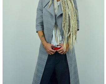 Maxi Loose Blazer, Extravagant coat, Maxi Loose coat, Plus size maxi coat, Extravagant Trench, Loose Trench Coat