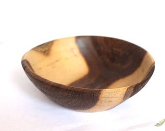 Walnut Wood Turned Bowl