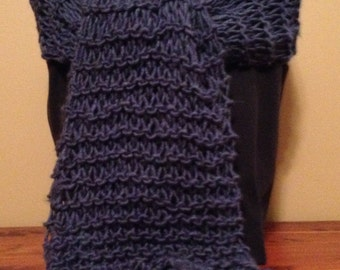 Oversized Stretch knit scarf