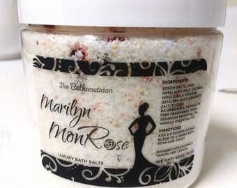 Luxury Bath Salts, Marilyn MonROSE Bath Bath Salts, Gift For Her, Gift For Mom