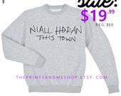 NIALL HORAN Sweatshirt | Niall Horan | Niall Horan This Town| Niall Horan Shirt