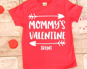 mommys valentine monogramed name shirt unisex valentines day shirt toddler boy valentine shirt