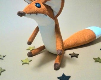 FOX - The little fox - Toys - Fox plush - Toy prince - Stuffed animals - Plush toy - Foxes - Gift for children - Kids gift