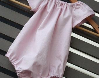 Baby Romper | Baby Pink Romper | Playsuit | Onesie | Sunsuit | Made in Australia