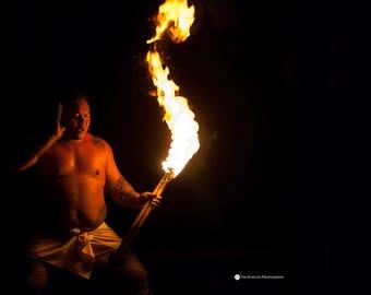 Fire Dancer, Hawaii