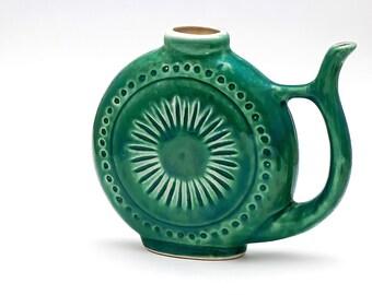 Ceramic Flask Etsy