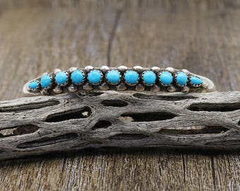 Native American Jewelry,Turquoise,Navajo,Sterling,Native,Turquoise Jewelry,Navajo Jewelry,native, Vintage Navajo Silver & Turquoise Bracelet