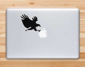 Eagle Decal, Eagle Sticker for iPad iPhone MacBook Or Walls and Cars
