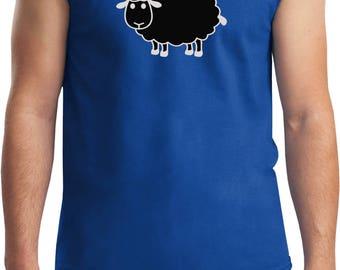 Men's Black Sheep of the Family Muscle Tee T-Shirt BLACKSHEEP-2700