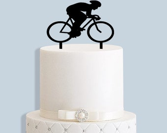 bicycle wedding cake topper uk bike cake topper etsy 11736
