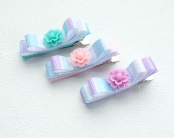 Alligator hair clip, girls hair clips, Lined Alligator Clip, Baby hair bows, Baby Hair Clips, Hair clips for girls, fabric hair clips