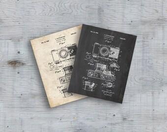 Camera Patent,Camera Art,Art Print,Camera,Photographic Camera Patent ,Vintage Camera,Poster, Office Decor,Wall Art,Wall Decor, Printable Art