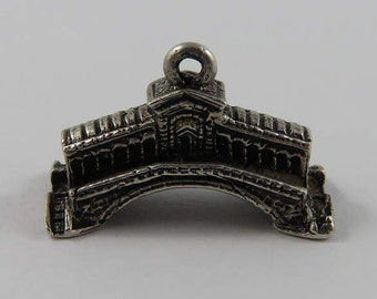 Venice Rialto Bridge Sterling Silver Vintage Charm For Bracelet