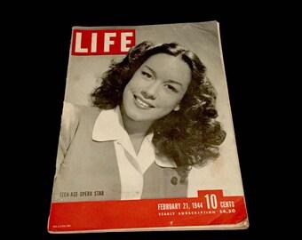 Life Magazine: Feb. 21.1944 - WWII   GC2642