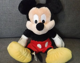 Mickey Mouse, Disney World Souvenir Mickey Mouse Plush, Stuffed Plush 9 inch Mickey Mouse, Official Disney World Mickey Collectible