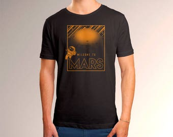 Welcome to Mars Men's T-Shirt