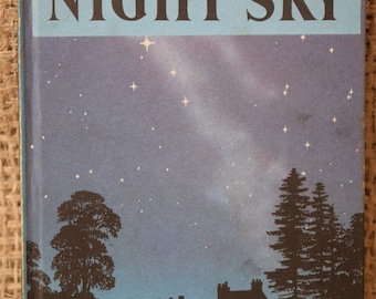 The Night Sky. A Vintage Ladybird Book. Series 536. 1967
