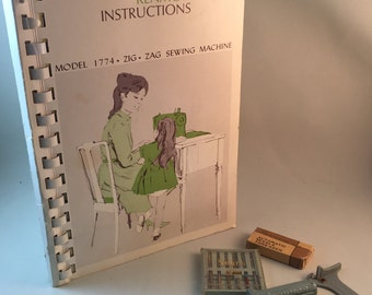 Sears Kenmore Instructions Manual and Assorted Items