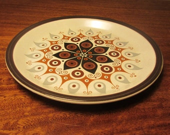 """DOVERSTONE - Staffordshire Pottery, """"Heather"""" Dinner Plate, pattern """"Canadiana"""" - Made in England - 1960s"""