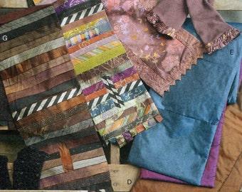Vogue 8703 Free Us Ship Sewing Pattern Fingerless Gloves Scarves Uncut Out of Print 2010 Designer Marcy Tilton