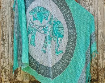Beach Sarong/Cangas/Beach pareos/Bohemian beach sarongs/Boho sarongs/Summer beach wrap * ABABA BEACH SARONG
