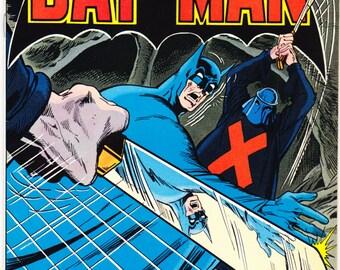 Batman 298 comic. Bronze Age book, Gifts, Crimson Coffin, Vintage art. 1978 DC Comics in NM (9.4)