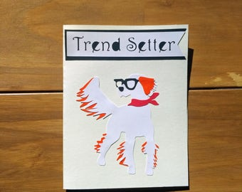 English Setter Dog Note Cards - Trend Setter