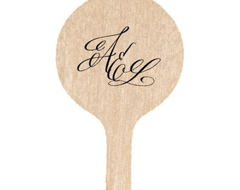 Personalized Wedding Drink Stir Sticks  | The Ella Wedding Collection