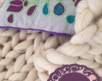 merino fleece blanket