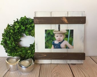 Picture Frame - Wood Frame - Rustic Picture Frame - Rustic Home Decor - Wood Frames - Farmhouse Decor - 4x6 Picture Frame - Farmhouse Frame