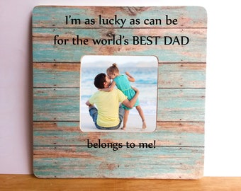 Dad frame, Father's Day Photo Frame, Gift for Dad