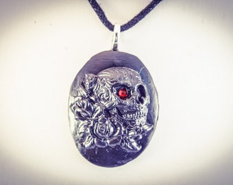 Skull & Rose Anti Cameo