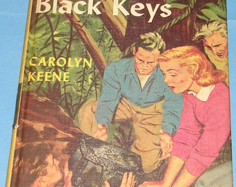 Nancy Drew #28 Clue of Black Keys 1st PC