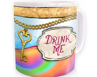 Drink Me Alice mug