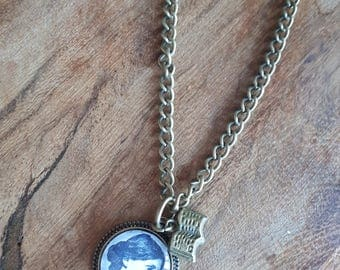 Virginia Woolf - Charm Necklace