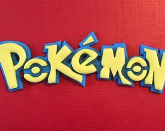 Pokemon Inspired Cake Topper-Fondant