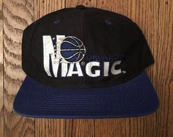 Vintage Orlando Magic Basketball NBA Snapback Hat Baseball Cap