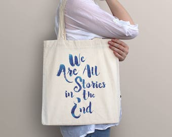 Doctor Who Tote Bag - Stories | Sci-fi, science fiction, geek, nerd, dr. who, television, tv