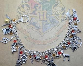 The Boy who Lived - Harry Potter inspired charm bracelet