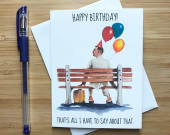 Funny Tom Hanks Birthday Card, Funny Birthday Card, Cute Birthday Gift, Happy Birthday, Birthday Card for Best Friend, Birthday Him