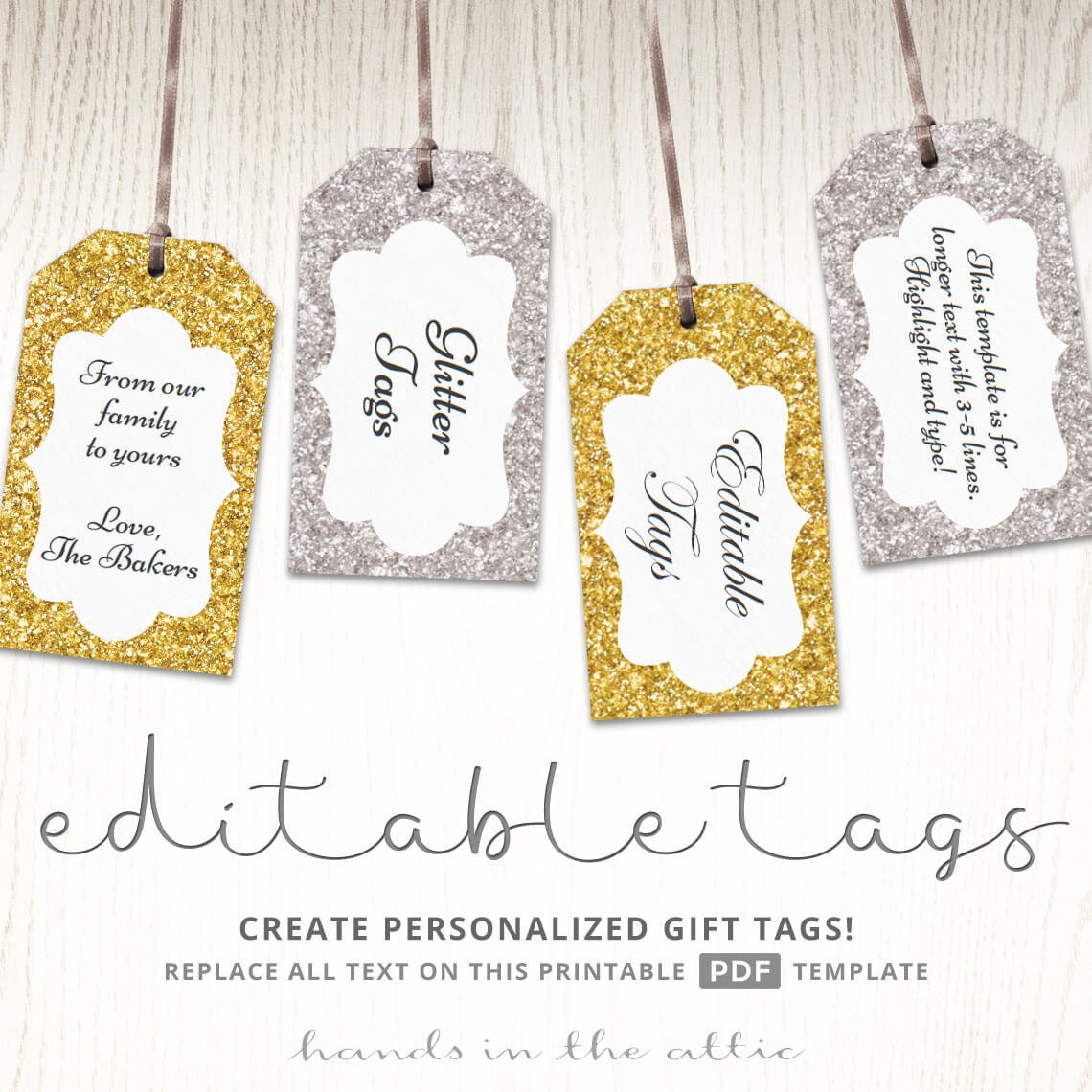 It is a photo of Genius Printable Favor Tags