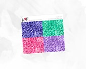 Fairy Life Glitter Headers - Matte or Glossy Erin Condren Planner Stickers -