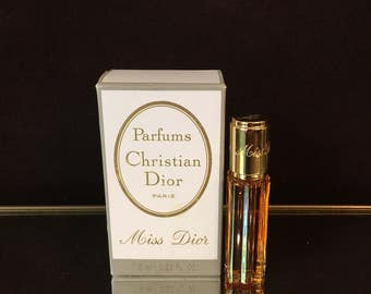 Miss Dior Perfume Christian Dior 1/4 oz Vintage Full authentic