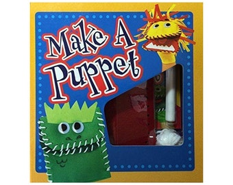 Make A Puppet Kit | Puppet kit for kids, puppet ministry | Boxed Set w/booklet