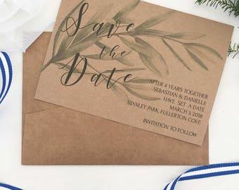 Printable Rustic Wedding Invitations, Printable Save the Date, Rustic Save the Date, Rustic, Wedding Invitation Rustic, Save the Date PDF