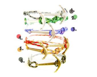 Mens Fashion, Nautical Rope Bracelet, Nautical Bracelet Mens, Tom Hope Bracelet