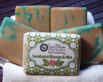 Eucalyptus Blossom & Mint Soap