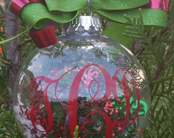 Personalized Initial Ornament