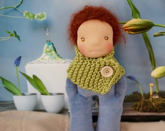 """Waldorf Doll-27 cm """"The Little nick!""""-Steinerpuppe, OOAK doll, first doll, Doll for boys"""