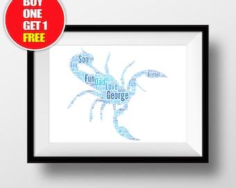 Scorpio artwork,  scorpio present, scorpio , scorpio word art